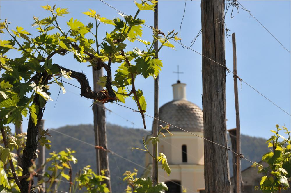 the church of Volastra, hamlet of Manarola