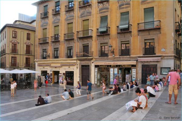 Granada (Spain), plaza de las Pasiegas