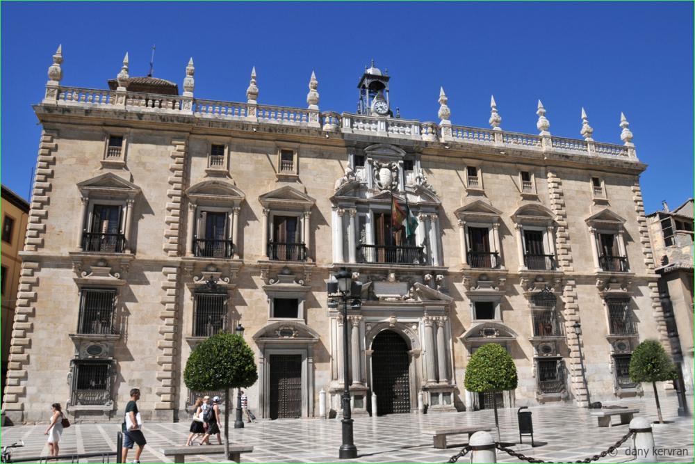 Granada, the town hall