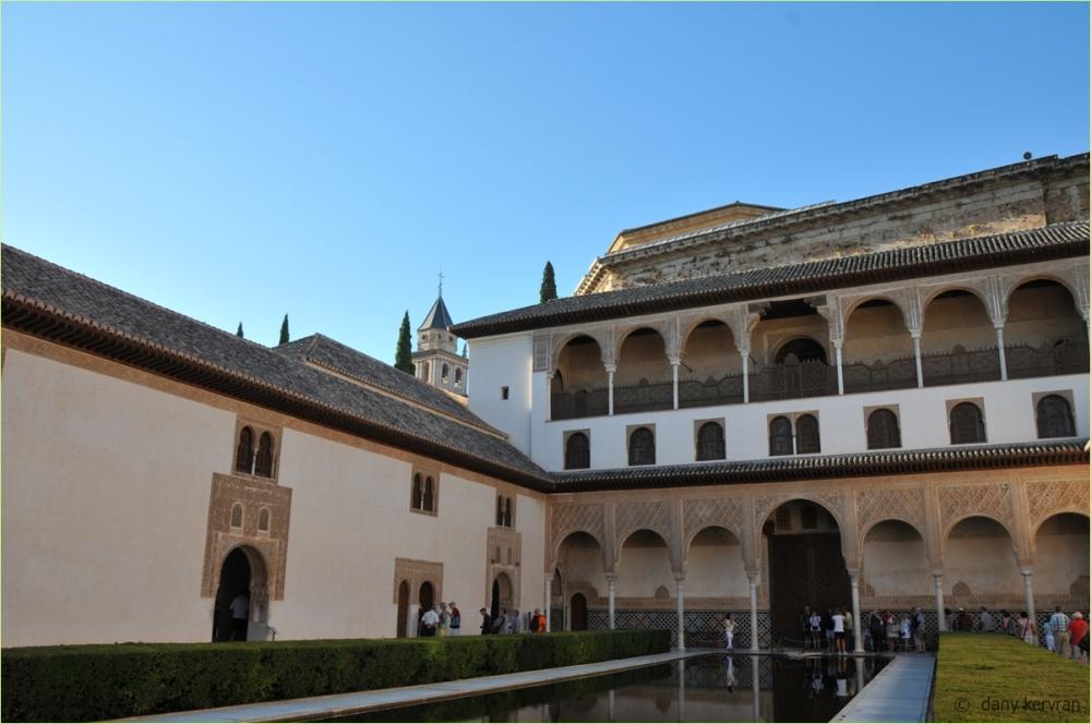 Granada, the Alhambra : Nasrid Palaces