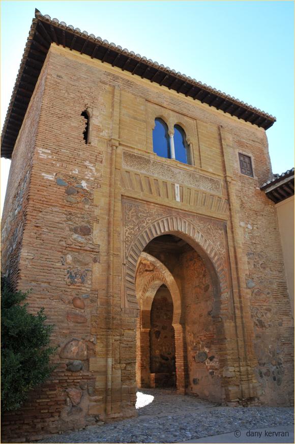 Granada, the Alhambra, the Wine Gate