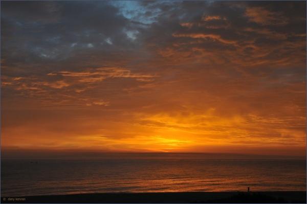 sunrise in Argeles (66, France)