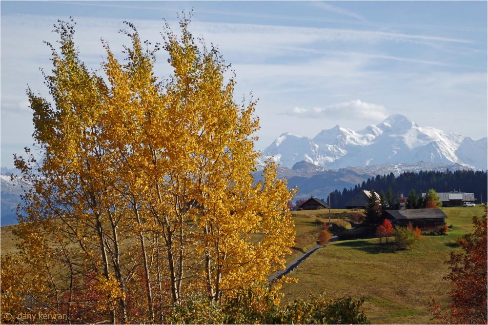autumn in Haute-Savoie