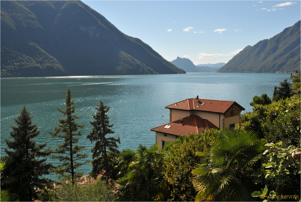 view on the Lake of Lugano