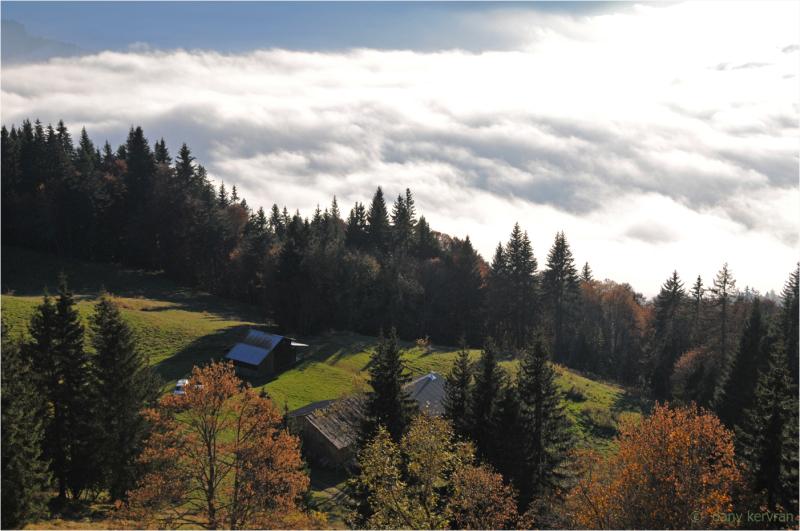 fog over Arve Valley