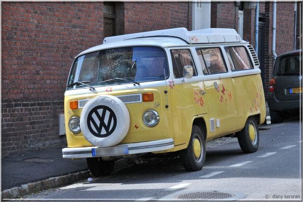 old Volkswagen Combi