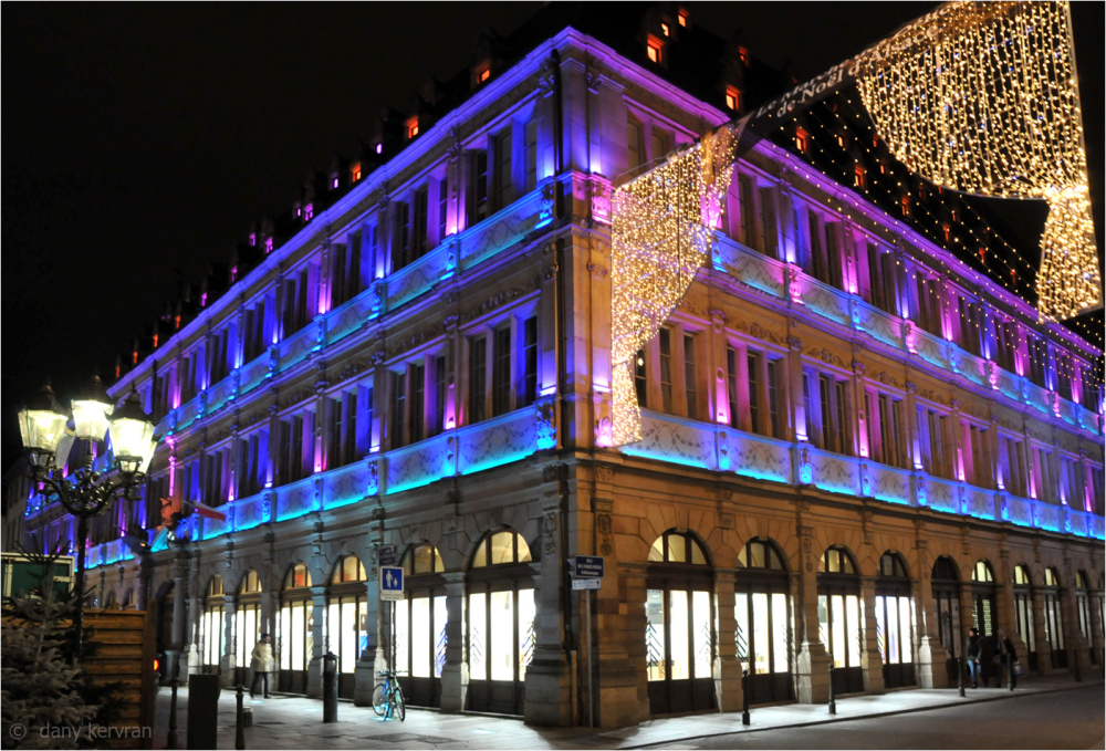 Christmas decorations and Neu in Strasbourg (2015)
