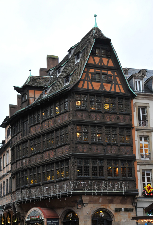 Christmas decorations in Strasbourg (2015)