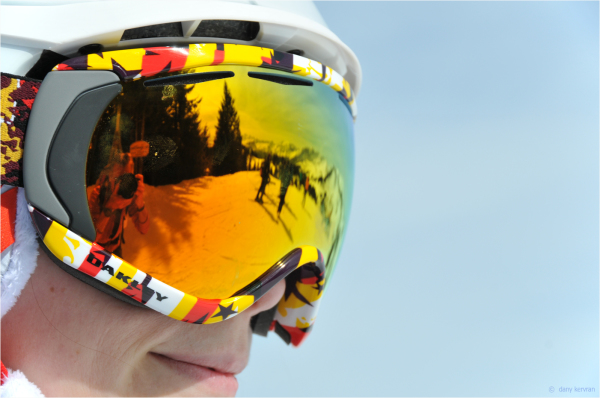goggle for skiing