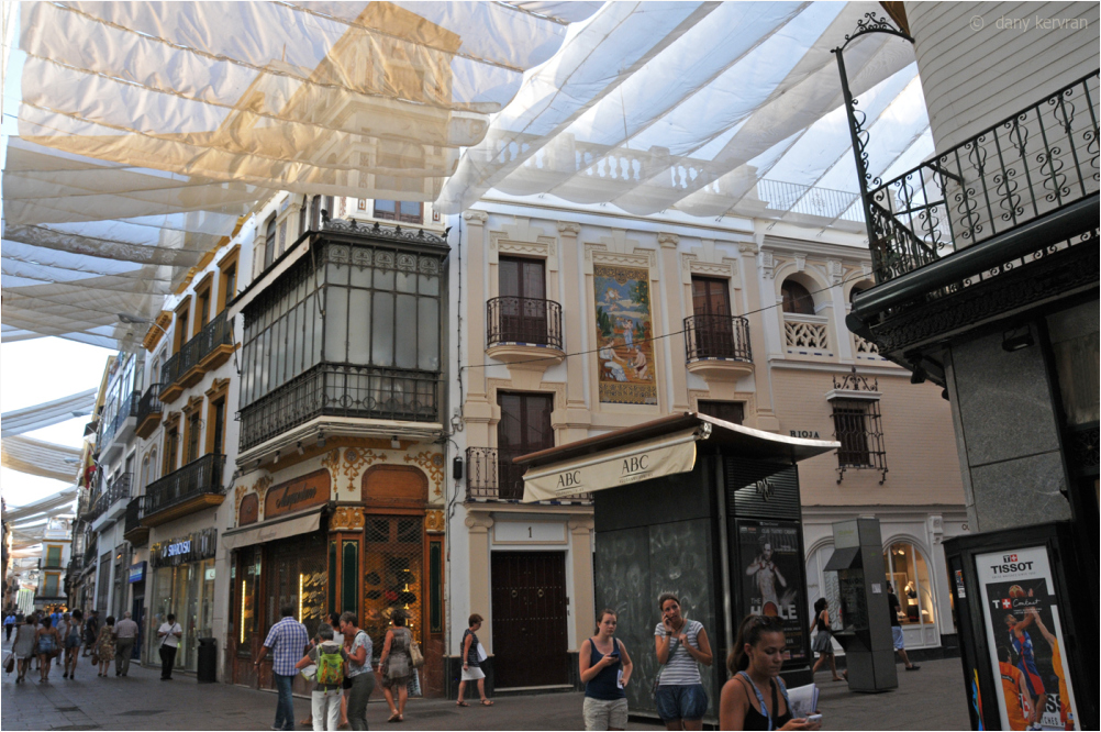 a street in Seville