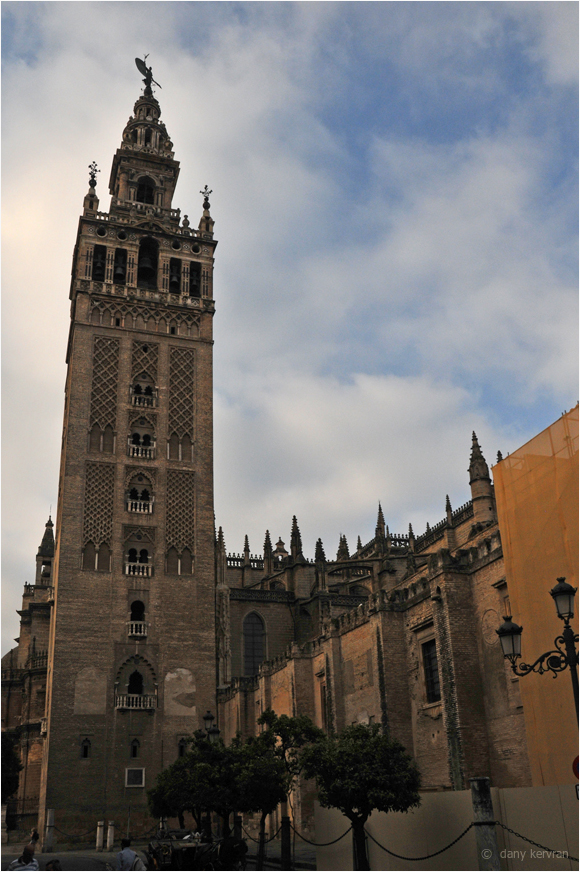 bell tower of the Cathedral in Seville