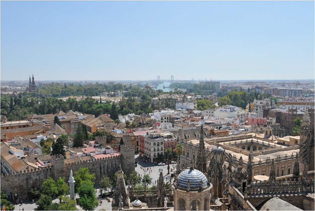 the city of Seville viewed from the Giralda