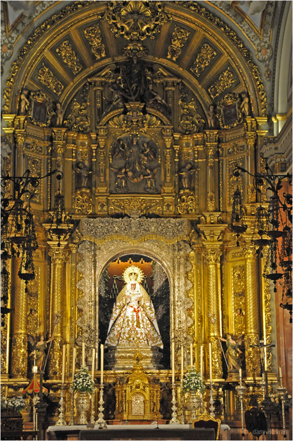 the Virgen of the Macarena, Seville