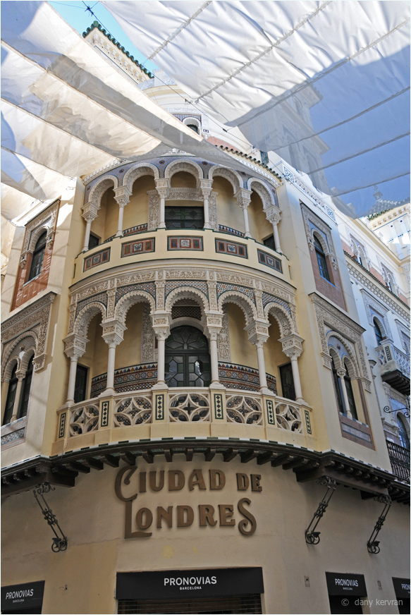 a building in Seville