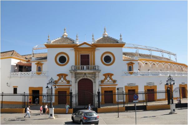 la plaza des toros iat Seville