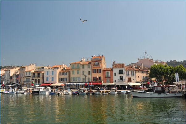 the harbour of Cassis