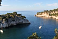 les calanques : Port Miou (1)