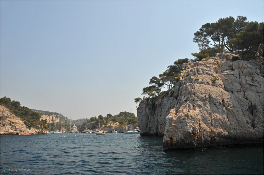 entrance of Port-Miou, calanque in Cassis