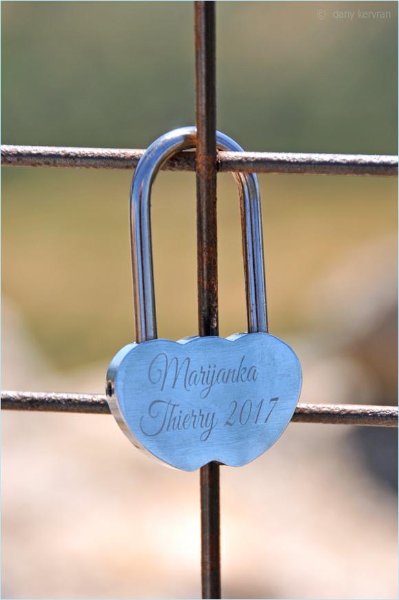 padlock in Les Baux-de-Provence