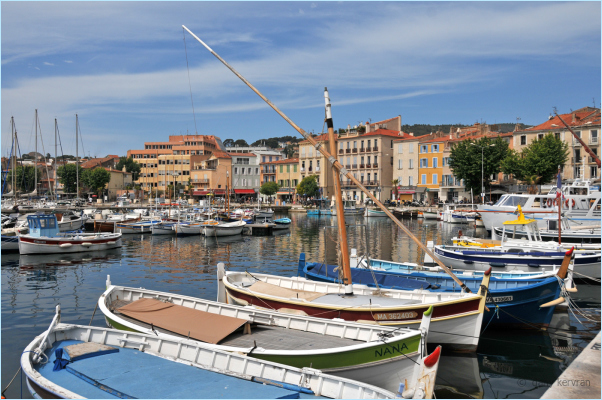 the harbour of La Ciotat