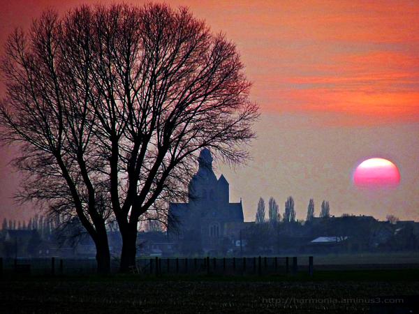 Evening rises