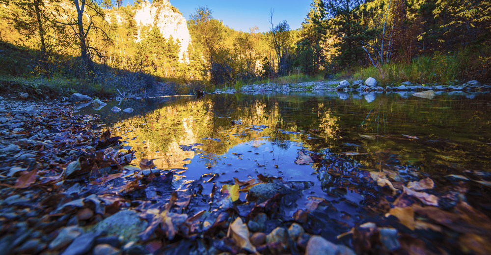 Autumn in Spearfish Canyon