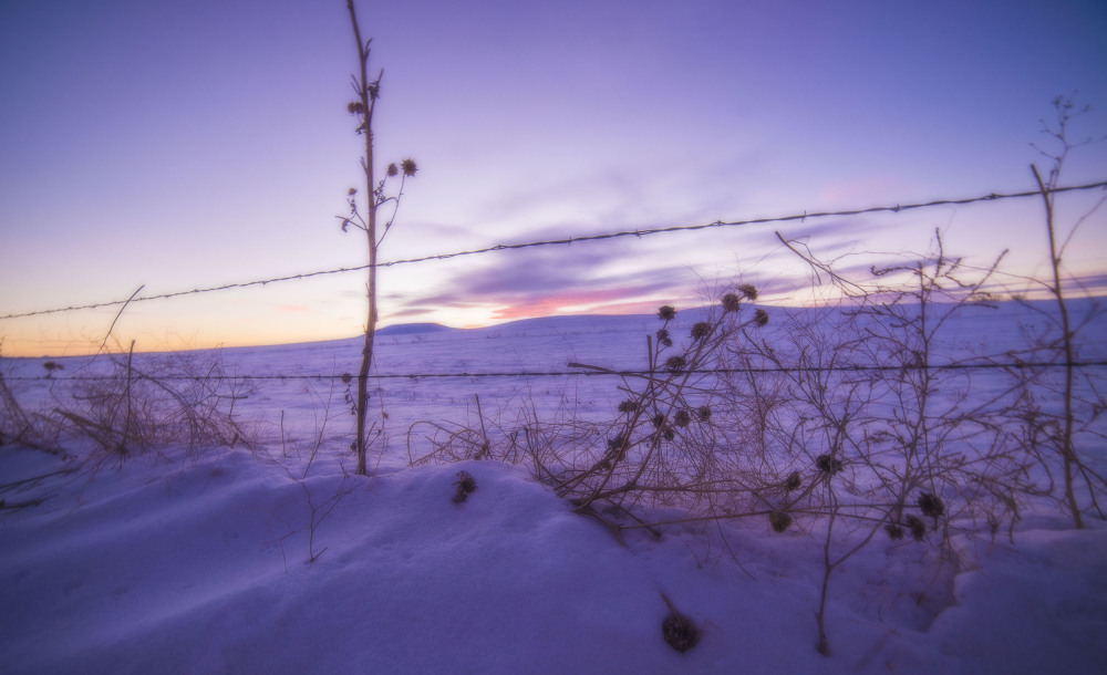Winter on the American plains