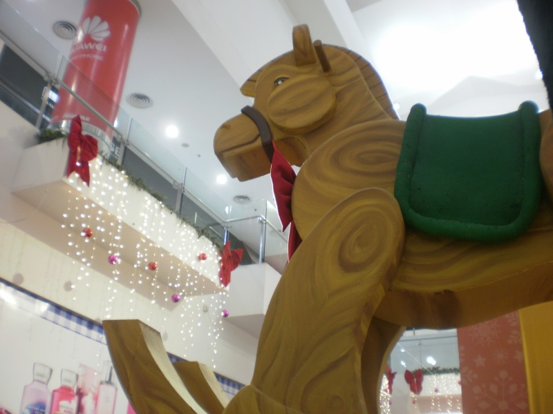 Christmas Trojan Horse Decoration