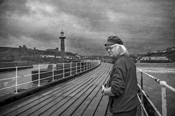 On Whitby pier