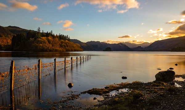 Derwent water sunset