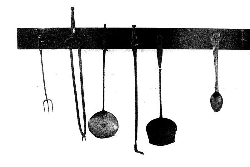 Civil War cooking utensils around 1850