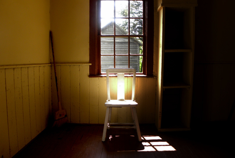 "Same house as ""Light & Shadows""."