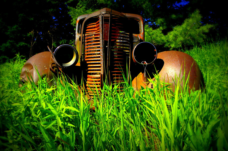 Old farm pick-up