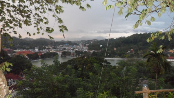 Kandy from the Top of the Hill