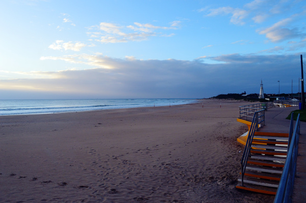 Sunrise at Jeffreys Bay Beach