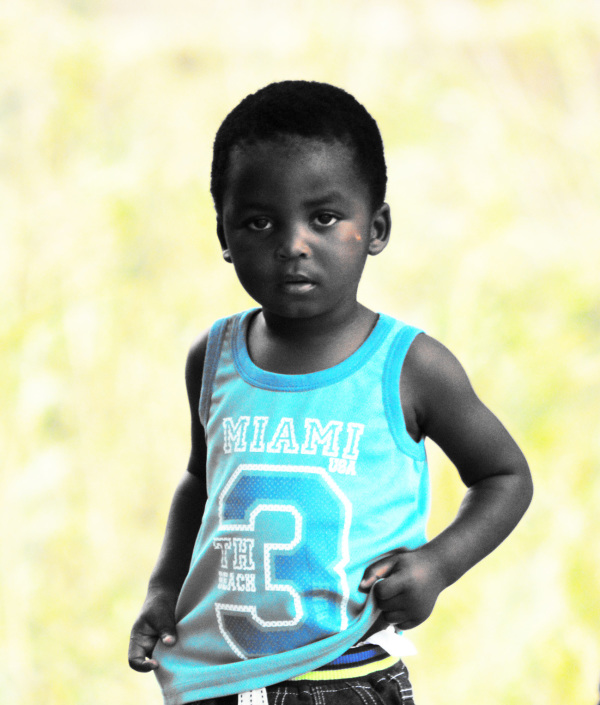 child portrait port st johns wild coast