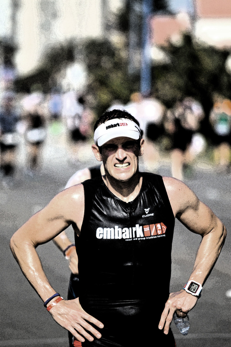 Triathlon competitor Iron Man 2016 Port Elizabeth