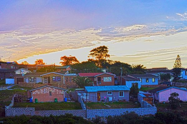 Sunset Colours Salt Lake Port Elizabeth