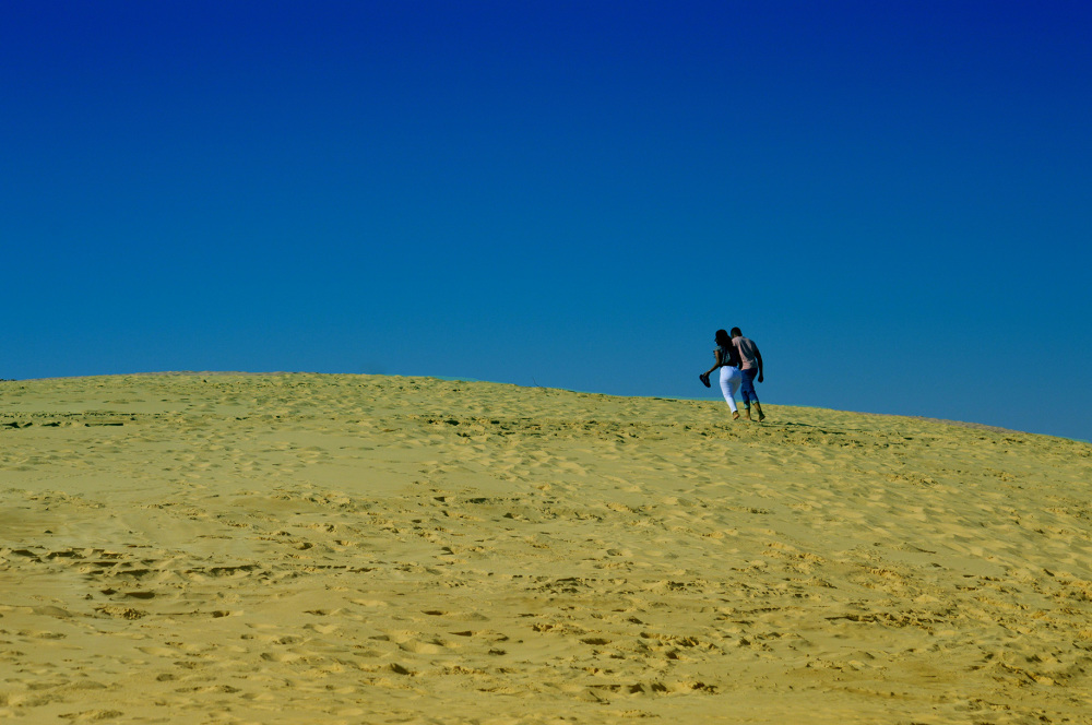 Couple on Dunes at Sardinia Bay Port Elizabeth
