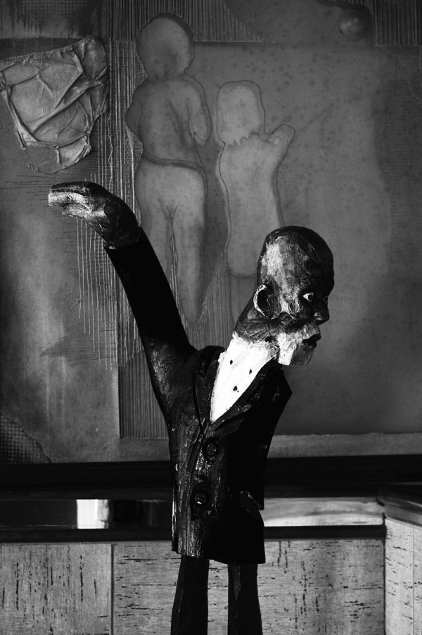Scultpture of man Eyeconic Studios Port Elizabeth
