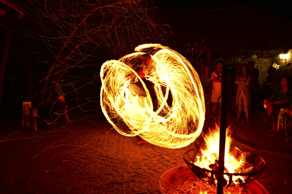 Fire Dancer in Port Elizabeth - Eyeconic