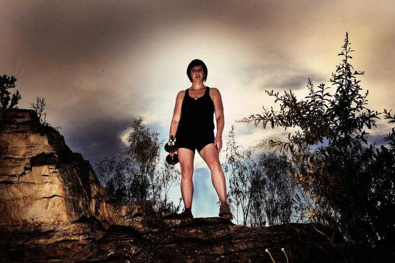 Female Fitness Model Van Stadens Bridge Eyeconic