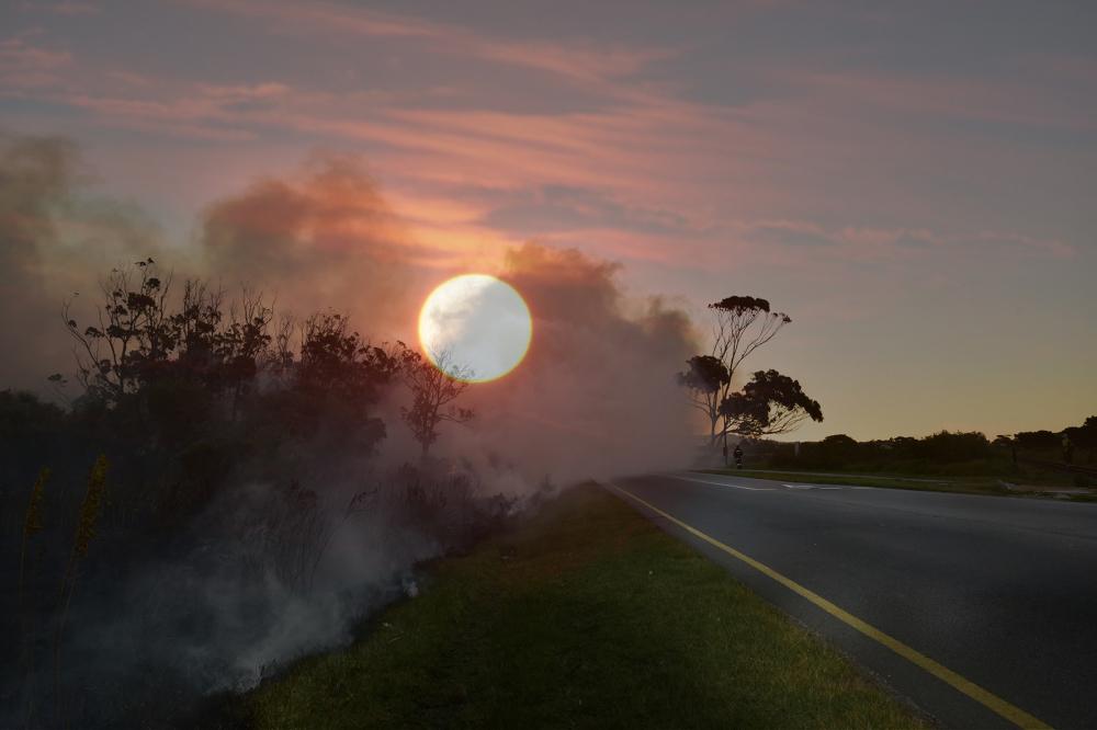Fire Skyline Port Elizabeth Eyeconic