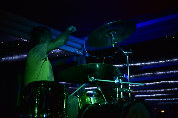 Gino Fabbri on drums Eyconic Photography