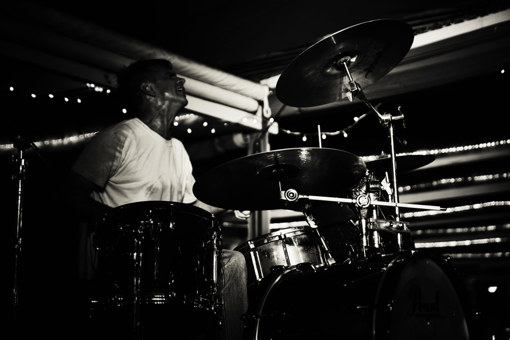 Gino Fabbri Drum Solo Port Elizabeth Photography