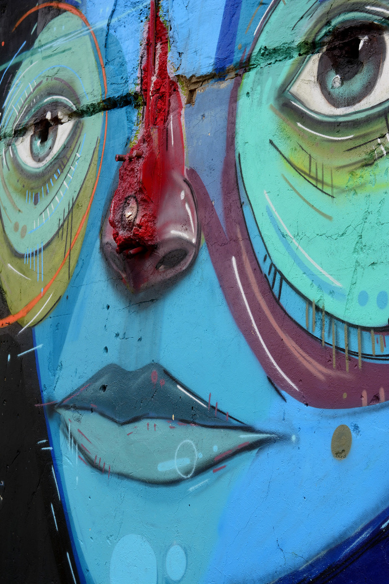 Street Art in Baakens Valley Port Elizabeth