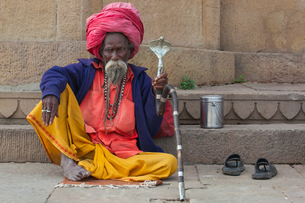 the king of the Sadhus
