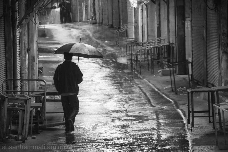 """Man in the Rain"""