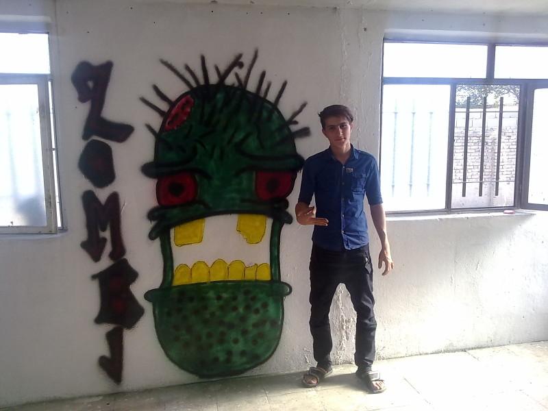 street art  by me