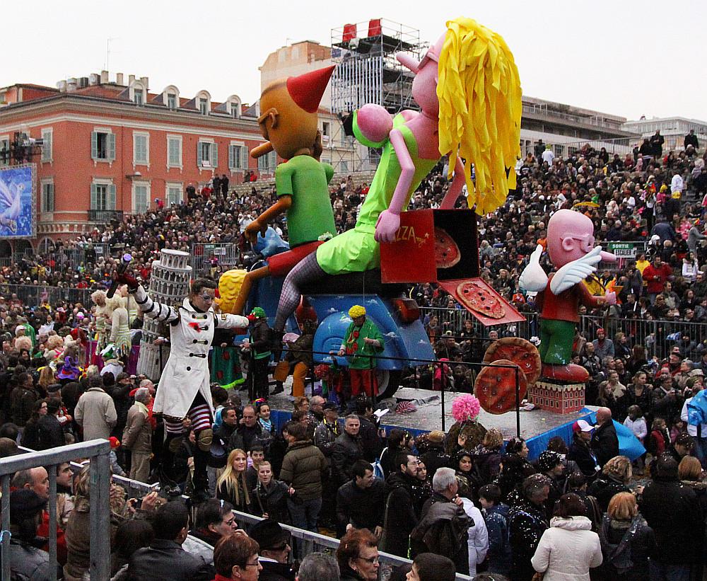 Carnival in Nice (France)